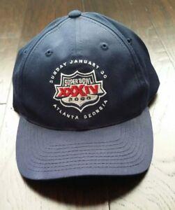 7b7f1128 Details about Super Bowl XXXIV 34 2000 Hat Adjustable Rams Atlanta Football  NFL Licensed