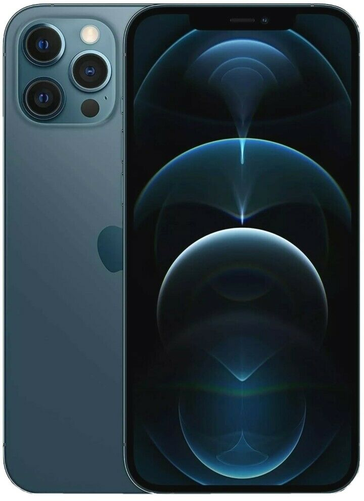 iPhone: Smartphone Apple iPhone 12 Pro Max 128GB Blu Pacific Blue 6.7″ Pollici IOS 14