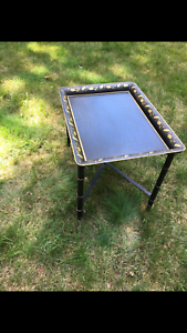 Tray-Table-Iron-Hand-Painted