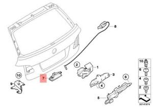 Details about Genuine BMW E39 Boot Lock Push on Wire Direct Replacement on