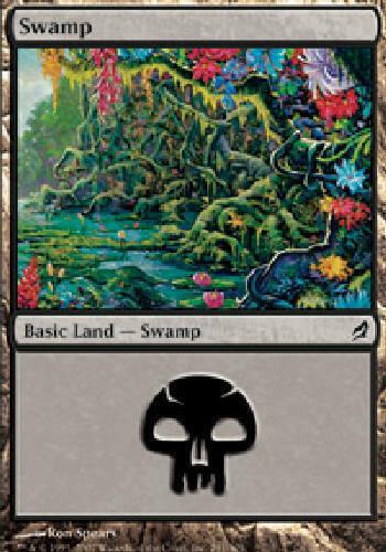 SWAMP #291 BASIC LAND X4 4 4X Lorwyn MTG Magic the Gathering DJMagic