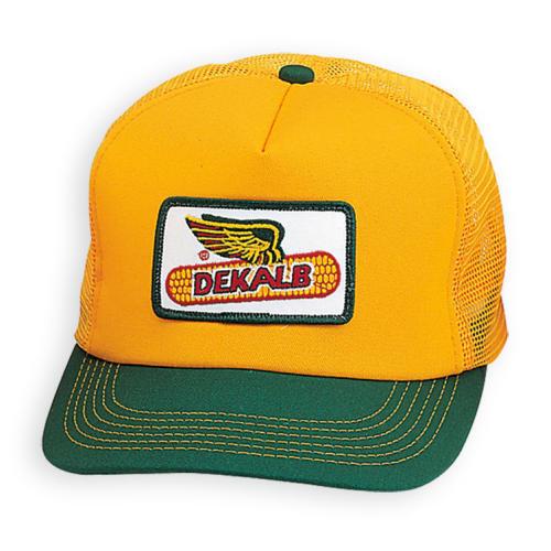 Buy Dekalb Seed Green   Yellow Vintage Trademark Logo Cap Hat Ballcap Corn  online  259035feada