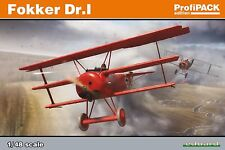 Eduard 1:48 Scale Model Kit Fokker Dr 1 Profipack Edition  EDK8162
