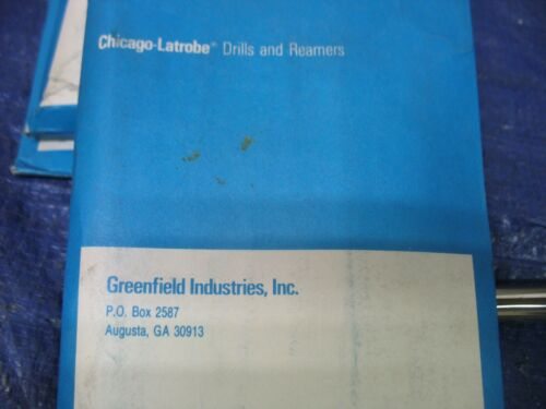 "Greenfield USA 13//32/"" Diam x 5-1//4/"" OAL Reamer Drill Blank HSS Type 165-CT"