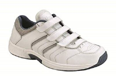 New Orthofeet Women's Diabetic White Comfort Shoes #950 Sz.10.5 Xw No Insole Bracing Up The Whole System And Strengthening It Women's Shoes Clothing, Shoes & Accessories