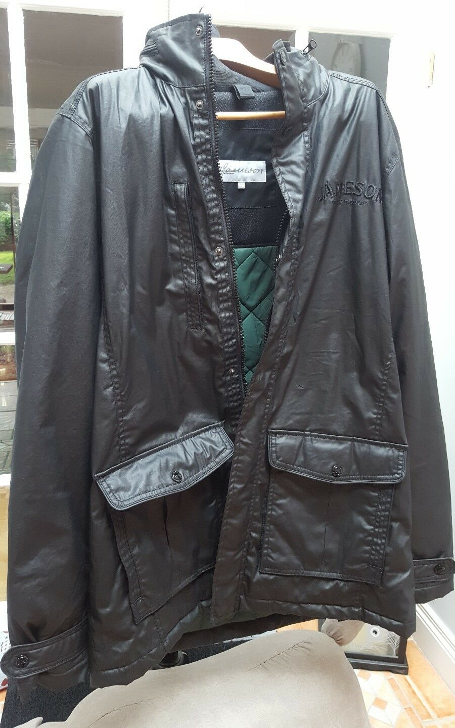 MENS 2XL COAT. BN . JAMESON IRISH WHISKEY