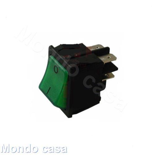 Interrupteur Bipolaire Lumineux Vert 16A 250V Machine Café Four Frigo 3319944