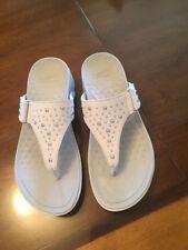 50d04da2c19b Dansko Women s Catalina Wedge Sandals Ivory Nubuck Size EU 38 --Free  Shipping