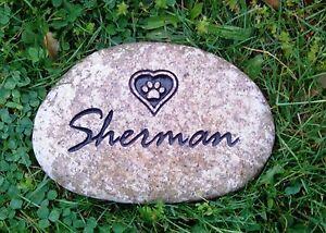 Details about Pet memorial stone 7