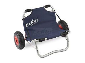 eckla kajakwagen expedition 260 bootswagen kajak kanu transportwagen mit sitz ebay. Black Bedroom Furniture Sets. Home Design Ideas