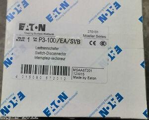 Moeller switch p3 100easvb p3100easvb new in box image is loading moeller switch p3 100 ea svb p3100easvb new colourmoves