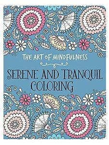 Image Is Loading NEW 12 95 Art Of Mindfulness Adult Coloring
