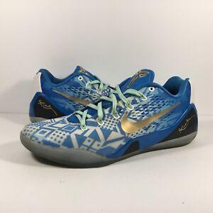 buy online ccce9 76e83 Image is loading Nike-Kobe-9-IX-Hyper-Cobalt