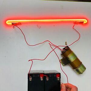 High-voltage-impulse-DC-12-24V-to-30kV-coil-transformer-spark-generator-NOS