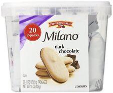 Pepperidge Farm Milano Cookie Dark Chocolate Flavored Biscuit Tub Snack Packs