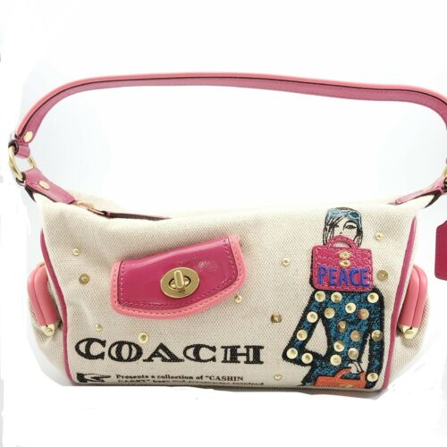 COACH BONNIE CASHIN CARRY Baguette Studded Sequins