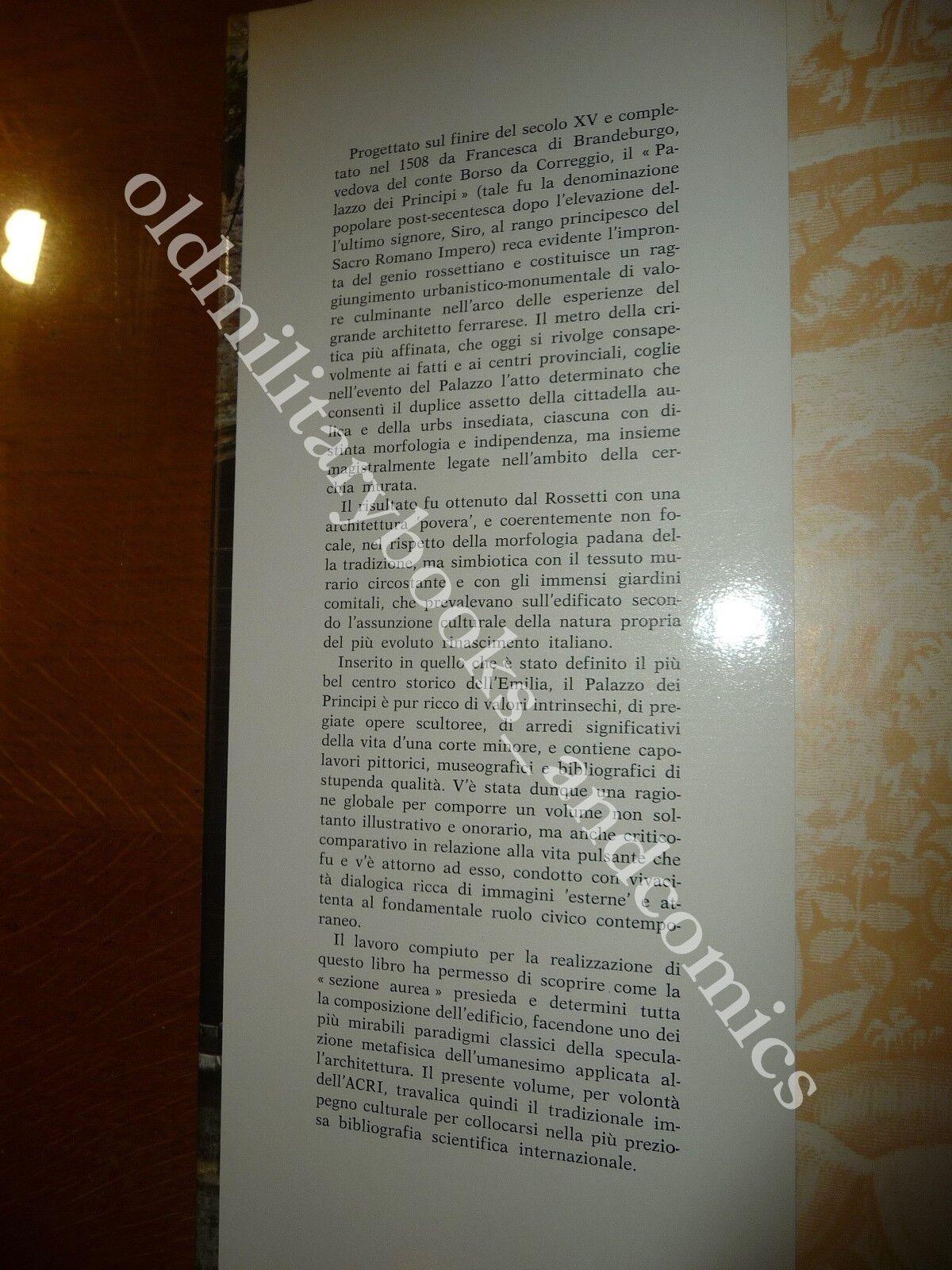 IL PALAZZO DEI PRINCIPI IN CORREGGIO ADANI GIUSEPPE - MANENTI VALLI FRANCA BELLO