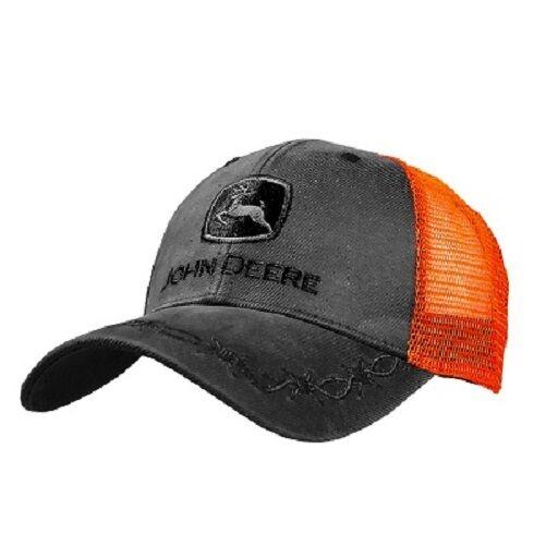 John Deere Trucker Hat John Deere Cap Trucker Deere hat. 13080449 CH   NWT. Charcoal 2ba7c2