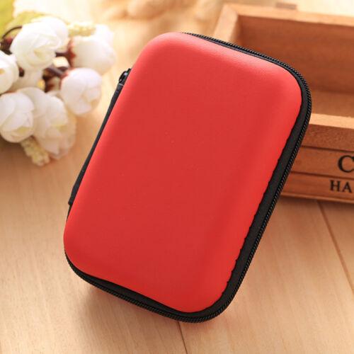 Karte Box new Mini Wallet BAG Tasche Aufbewahrungsbox Case Kopfhörer Ohrhörer