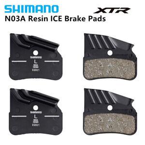 XTR Bicycle Mtb SLX Shimano N03A Brake Pads Resin Ice Tech 4 Piston Brakes XT