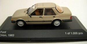 Caja-Blanca-027-050-079-163-Ford-Fiesta-RS200-Orion-Capri-Modelo-coches-de-carretera-1-43rd