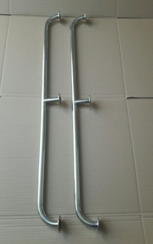 Pair of stainless steel 900mm marine grade 316 boat grab rails//handles 22mm