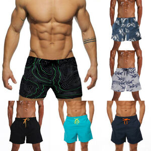 US-Mens-Boy-Swimming-Board-Shorts-Swim-Trunk-Swimwear-Quick-Dry-Gym-Beach-Shorts