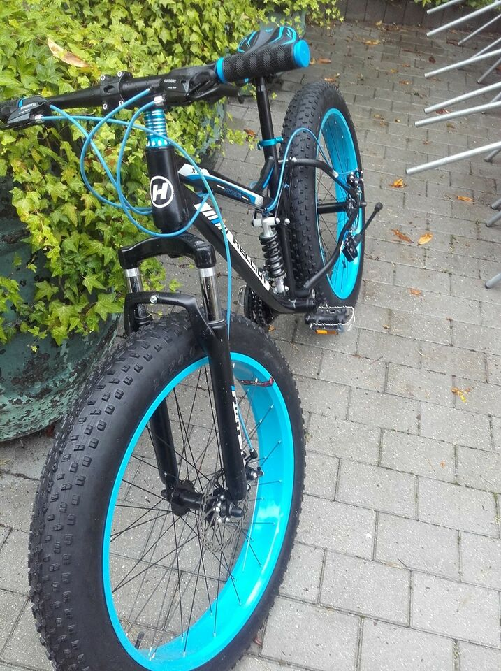 Full Suspention Fat Bike
