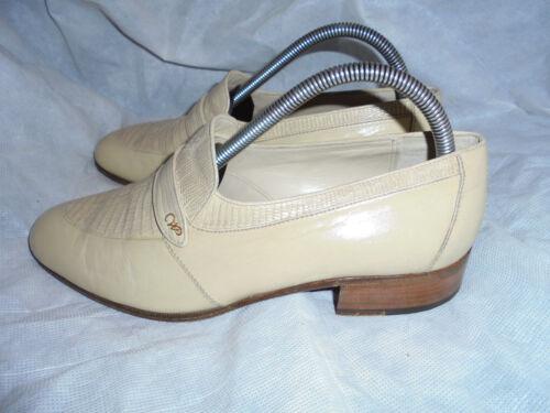 40 intelligenti scarpe formali in Vgc Uomo Slip 6 Eu taglia On beige Wana Uk pelle 1B8qwTO