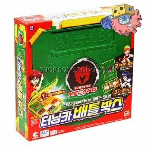 TURNING MECARD Battle Battle Battle Box Board Game Field Playset Action Figure Robot_AR 7f3531