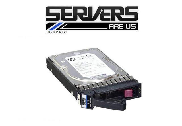 """HP 500GB 3.5"""" Hard Drive 7.2K RPM SATA MDL  AJ738A 480940-001 MSA2"""