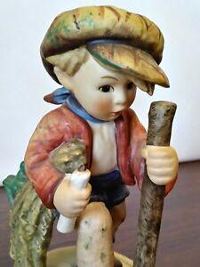 Vintage-Goebel-Hummel-034-On-Secret-Path-034-386-TMK-5-Figurine-West-Germany