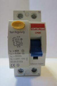 Contactum CPB Series MCB 10A 16A 20A 32A 40AContactum RCD CPR80