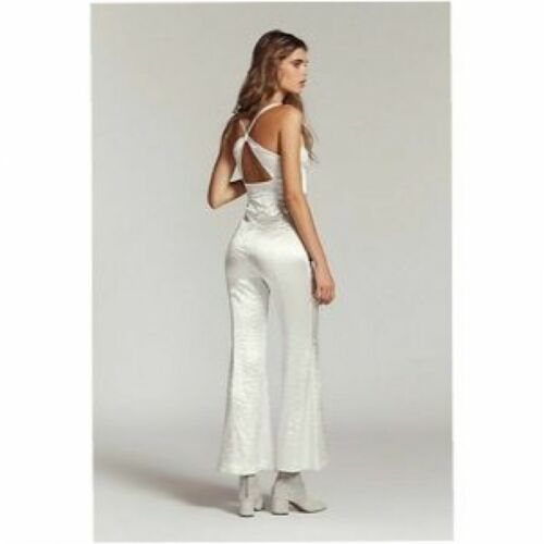 New 6 People Jumpsuit Free Silver Sz Crush Authentic YwAx0TcRqY
