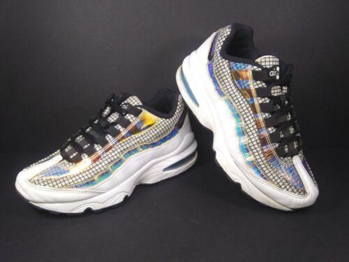 Nike Air Max 95 Size 4Y Blue Gaze Multicolor BQ721