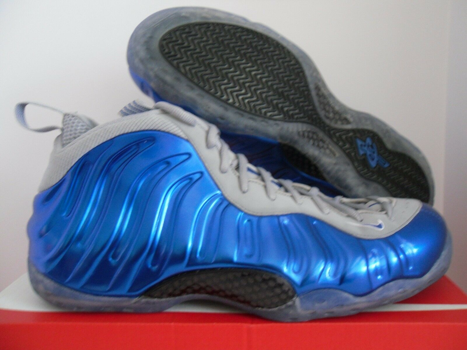 NIKE AIR FOAMPOSITE ONE SPORT 16 ROYAL Bleu-WOLF gris SZ 16 SPORT 39f741