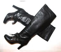 CLEMENTS RIBEIRO  Boots women's $785 Black  Size 6 US 36 EUR