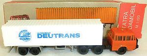 Deutrans-Camion-Blanc-Tatra-Budamobil-Tt-1-120-Emballage-D-039-Origine-Uh-A