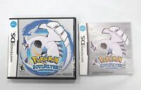 Pokemon Soul Silver Case And Instruction Manual Booklet Only (ds) Us Version