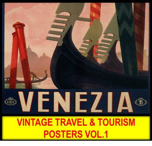 VINTAGE TRAVEL POSTERS EUROPE Holiday Wall Art Prints Retro Art Deco Posters 1
