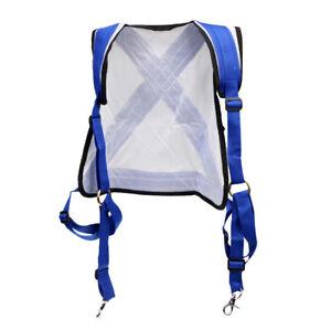 adjustable stand up fishing shoulder harness vest