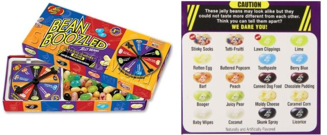 jelly belly bean boozled american sweet candy 3rd edition spinner game food