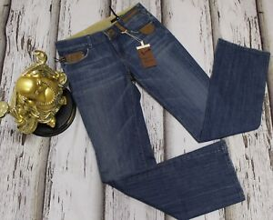 30 Studio Jeans Vigoss Women 2294 Size in Bootcut denim Blu rifiniture similpelle xXCSwXq