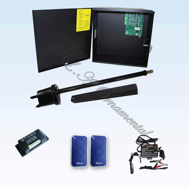 gate opener single swing apollo 1500 complete kit. Black Bedroom Furniture Sets. Home Design Ideas