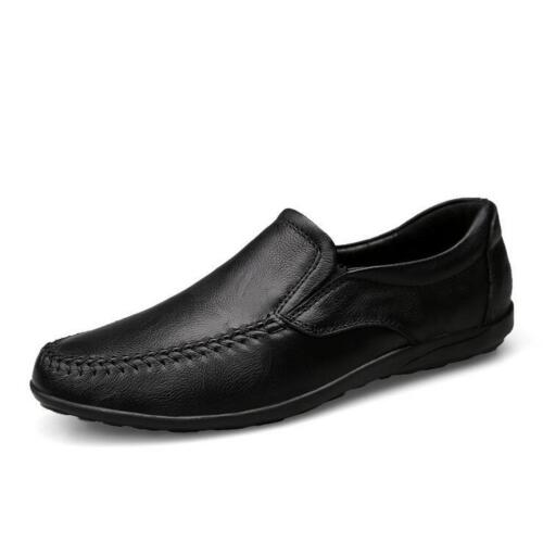 New Men/'s Driving Casual Boat Shoes Leather Shoes Moccasin Slip On Loafers