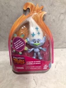 DreamWorks Trolls Guy Diamond Collectible Figure with Printed Hair New Open Box