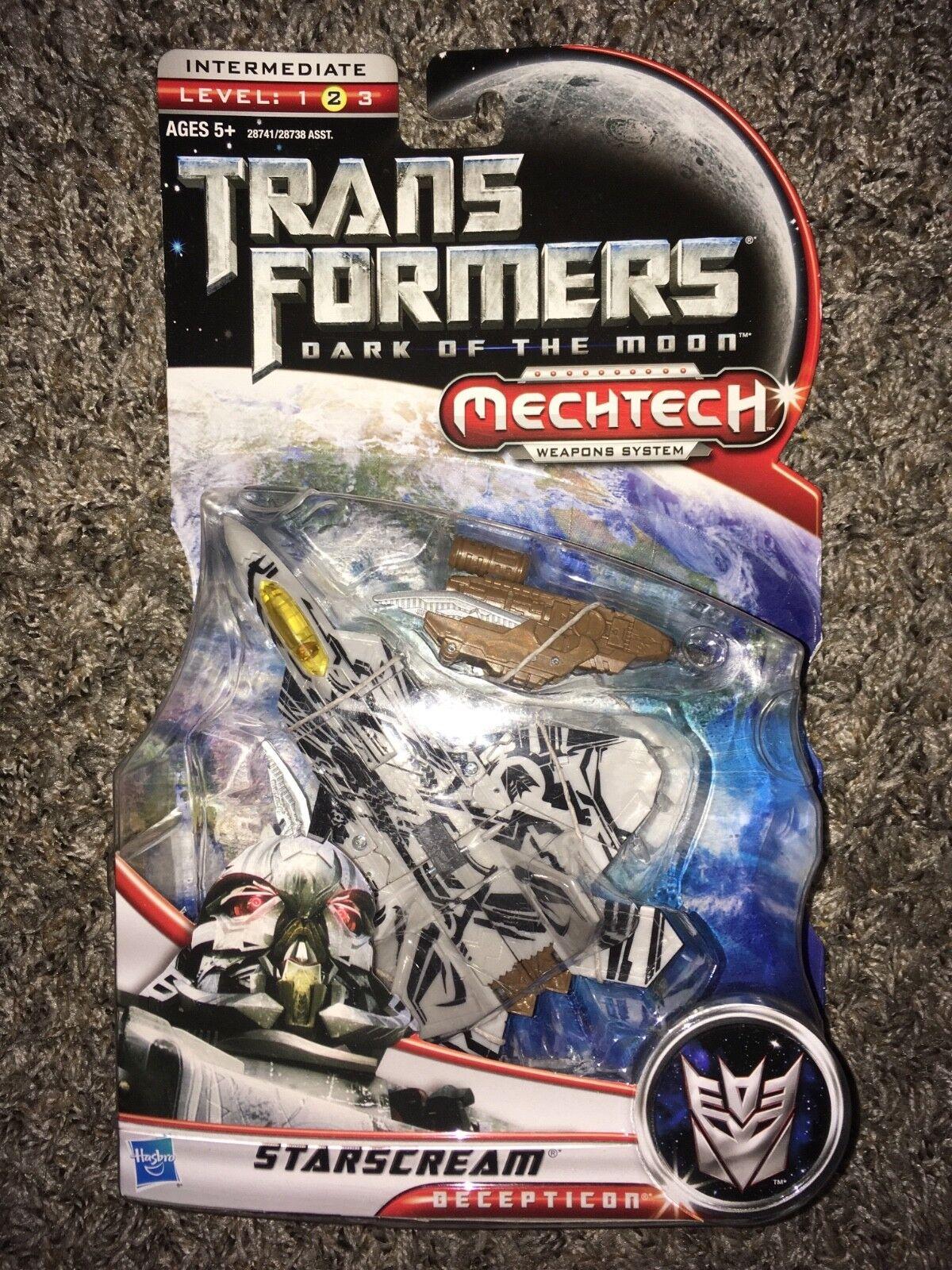Transformers Dark Of The Moon Deluxe Class Starscream Mechtech MISB Hasbro 2011