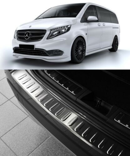 2014up Mercedes Benz Vito Taxi W447 Chrome Arrière Protection Pare-chocs S Steel