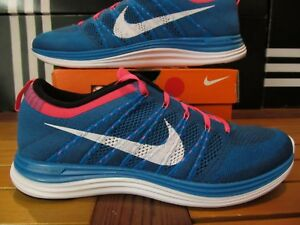 new products de366 05c21 Image is loading NEW-Nike-Flyknit-One-Turquoise-Blue-Pink-11-