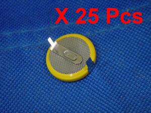 SNES N64 Game cartridge battery 25pcs